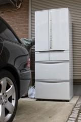 田村月子 公式ブログ/駐車場に冷蔵庫? 画像1