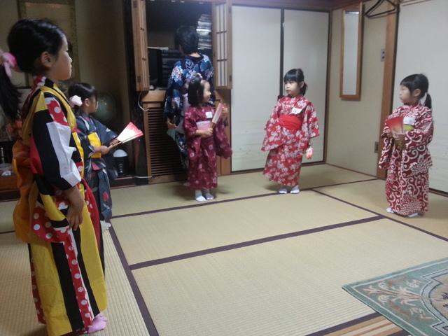 日本舞踊のお稽古