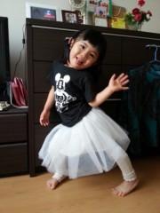 田村月子 公式ブログ/完成!〜チュールスカート! 画像1