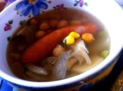 平田弥里 公式ブログ/スープと休憩 画像1
