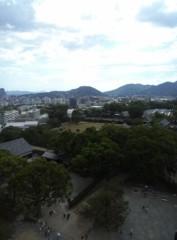 高橋龍之介 公式ブログ/熊本城天守閣の一番上 画像2