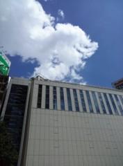 高橋龍之介 公式ブログ/パークタワー行きの無料シャトルバスの待つところに着いた 画像2