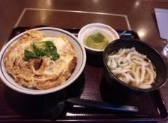 高橋龍之介 公式ブログ/今手打ち麺処・郷士名物三国一に来ています 画像3