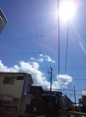 高橋龍之介 公式ブログ/空を撮ったよ 画像1