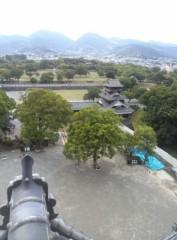 高橋龍之介 公式ブログ/熊本城天守閣の一番上 画像1