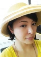 石井あす香 公式ブログ/麦わら帽子 画像1