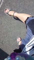 青山麻紀子 公式ブログ/足もアチチ…。 画像1