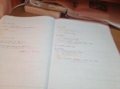 比留間佳愛(La☆DoLL) 公式ブログ/勉強開始。 画像1