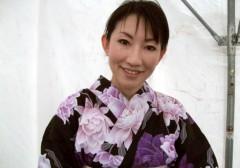 信岡由紀子 プライベート画像 イオン浴衣CM 放送中