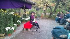 マナ 公式ブログ/古典菊前で・・・ 画像1