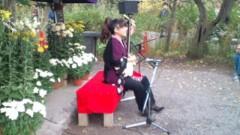 マナ 公式ブログ/古典菊前で・・・ 画像2