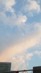 はづき ゆうな 公式ブログ/ピンクの空って可愛いな 画像1