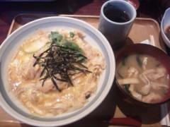 小林万桜 公式ブログ/観劇からの親子丼 画像2