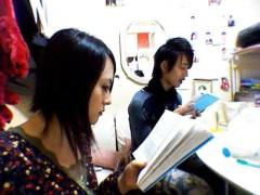 小林万桜 公式ブログ/本番直前の楽屋にて! 画像2