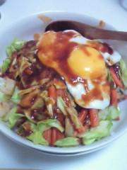 今村俊史 公式ブログ/親子丼の予定が…ΩÅΩ; 画像1