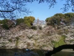 梅田絵理子 公式ブログ/ボートにのってお花見 画像2
