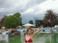 梅田絵理子 公式ブログ/としまえんのプール 画像2