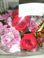 梅田絵理子 公式ブログ/愛をこめて花束を 画像1