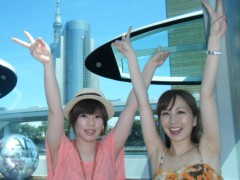 梅田絵理子 公式ブログ/水上バスに乗って(1) 画像2