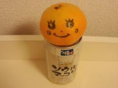 梅田絵理子 公式ブログ/アルミ缶の上にあるミカン 画像1
