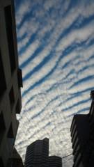 梅田絵理子 公式ブログ/とある秋の日の雲 画像1