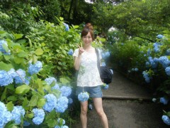 梅田絵理子 公式ブログ/明月院の紫陽花 画像1
