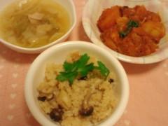 梅田絵理子 公式ブログ/クッキング-ホタテの炊き込みごはん- 画像1