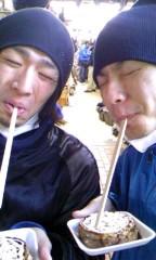 シンイチ 公式ブログ/とても怪しい二人だが普段はイケてるんですよ山手線マラソン後半 画像3