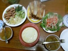 斉藤明日絵 公式ブログ/夕飯☆ 画像1