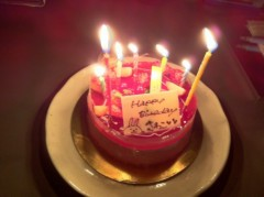 藤堂さわこ 公式ブログ/My Birthday★☆ 画像1