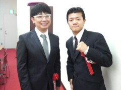 木下博勝 公式ブログ/元春日王の断髪式で 画像2