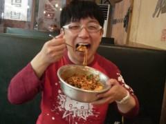 木下博勝 公式ブログ/アルミのタライで食べるビビンハ゜ 画像2
