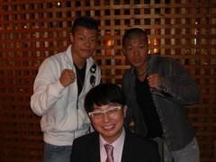 木下博勝 公式ブログ/亀田興毅、亀田和毅選手、お疲れ様でした。 画像1
