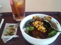 木下博勝 公式ブログ/今、お昼を食べています 画像1