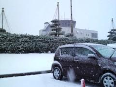 木下博勝 公式ブログ/雪が積もってますー 画像1