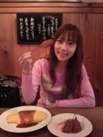 三枝夕夏 IN db 公式ブログ/☆ランチはオムライス☆ 画像1