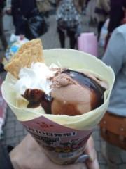 新垣直人 公式ブログ/原宿でクレープ 画像3