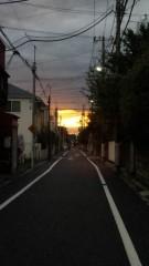 新垣直人 公式ブログ/黄色い夕焼け 画像1