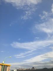新垣直人 公式ブログ/10月3日の空とふきでもの 画像1
