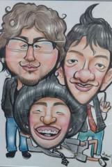 とだ(マントフフ) 公式ブログ/似顔絵。浅草。抱きしめ隊。CD。 画像1