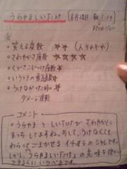 伊藤えみ 公式ブログ/裏山の椎茸 画像1