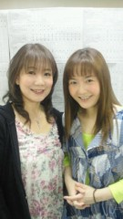 川田妙子 公式ブログ/楽屋で… 画像1