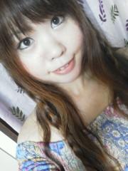 佐藤未帆 (しながわてれび出演ブログ) 公式ブログ/ダズリン 花柄シャーリングワンピ ブルー 画像2