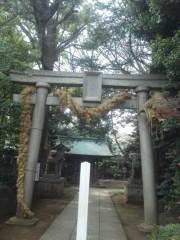 佐藤未帆 (しながわてれび出演ブログ) 公式ブログ/神社 パワースポット 奥沢神社 画像1