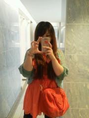 佐藤未帆 (しながわてれび出演ブログ) 公式ブログ/ダズリン オレンジワンピ 画像3