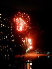 佐藤未帆 (しながわてれび出演ブログ) 公式ブログ/ハワイ 花火 画像3