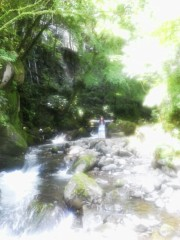 佐藤未帆 (しながわてれび出演ブログ) 公式ブログ/滝 万葉公園 画像1