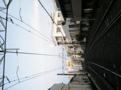 佐藤未帆 (しながわてれび出演ブログ) 公式ブログ/朝の月と踏み切り 画像1