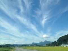 畠山智代 公式ブログ/sunnyday 画像1