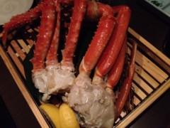 アクア新渡戸 公式ブログ/タラバ蟹 画像1